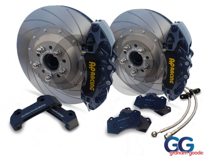 Focus RS MK3 Big Brake Kit Black 6 Pot 362mm Upgrade GGR AP Racing GGF7004